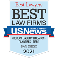 "Best Lawyers ""Best Law Firms"" - Product Liability Tier 1, 2016"
